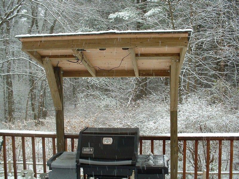 Photo of Dekk med grill ut bilder Første snø fra 2004!