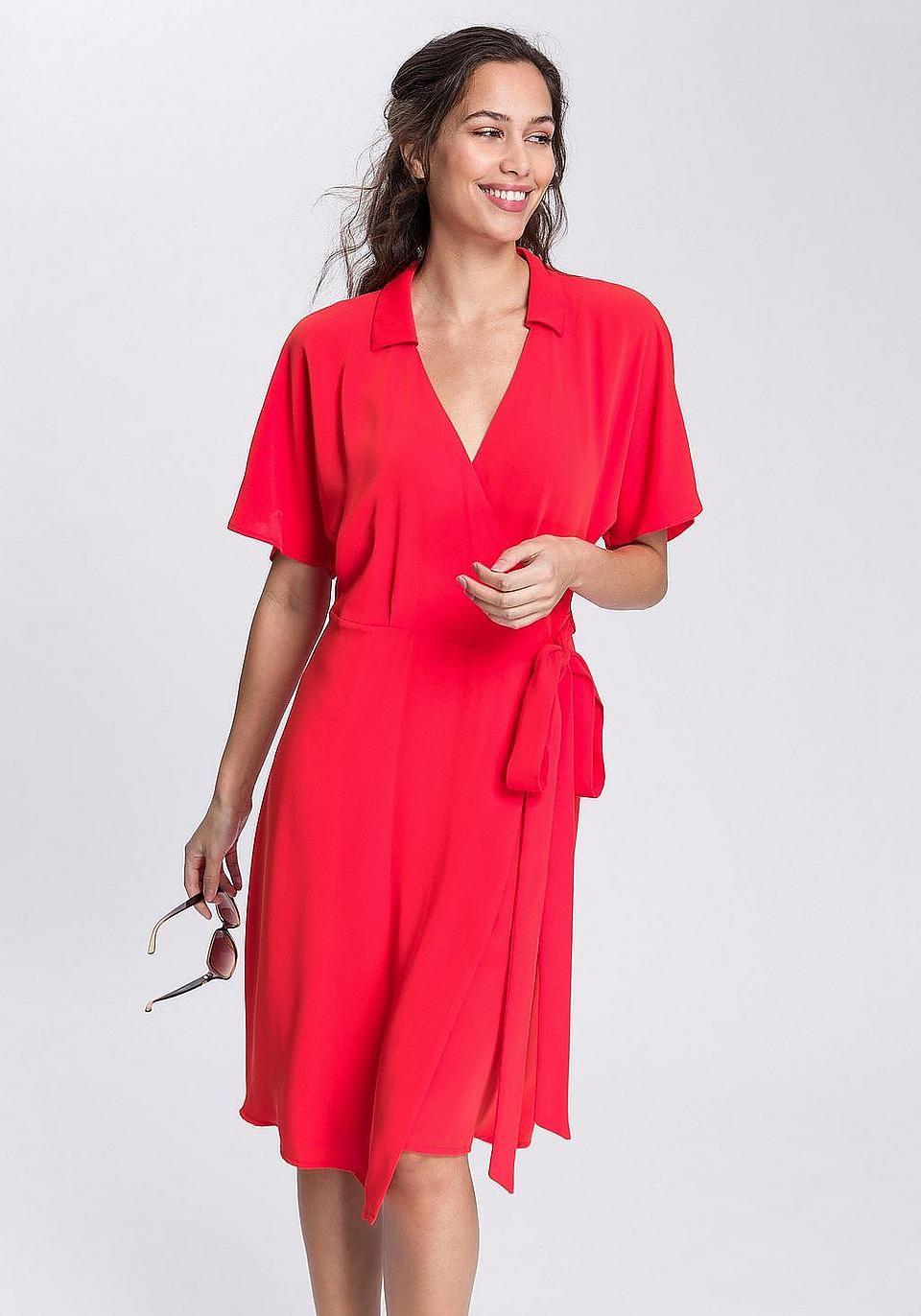 8c011b3ed7d6 Esprit Collection Wickelkleid kaufen in 2019 | Sommer Must-Haves ...