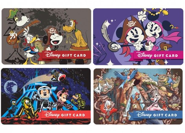 Ring In The New Year With New Disney Park Themed Disney Gift Cards Disney Gift Card Disney Gift Disney Parks Blog