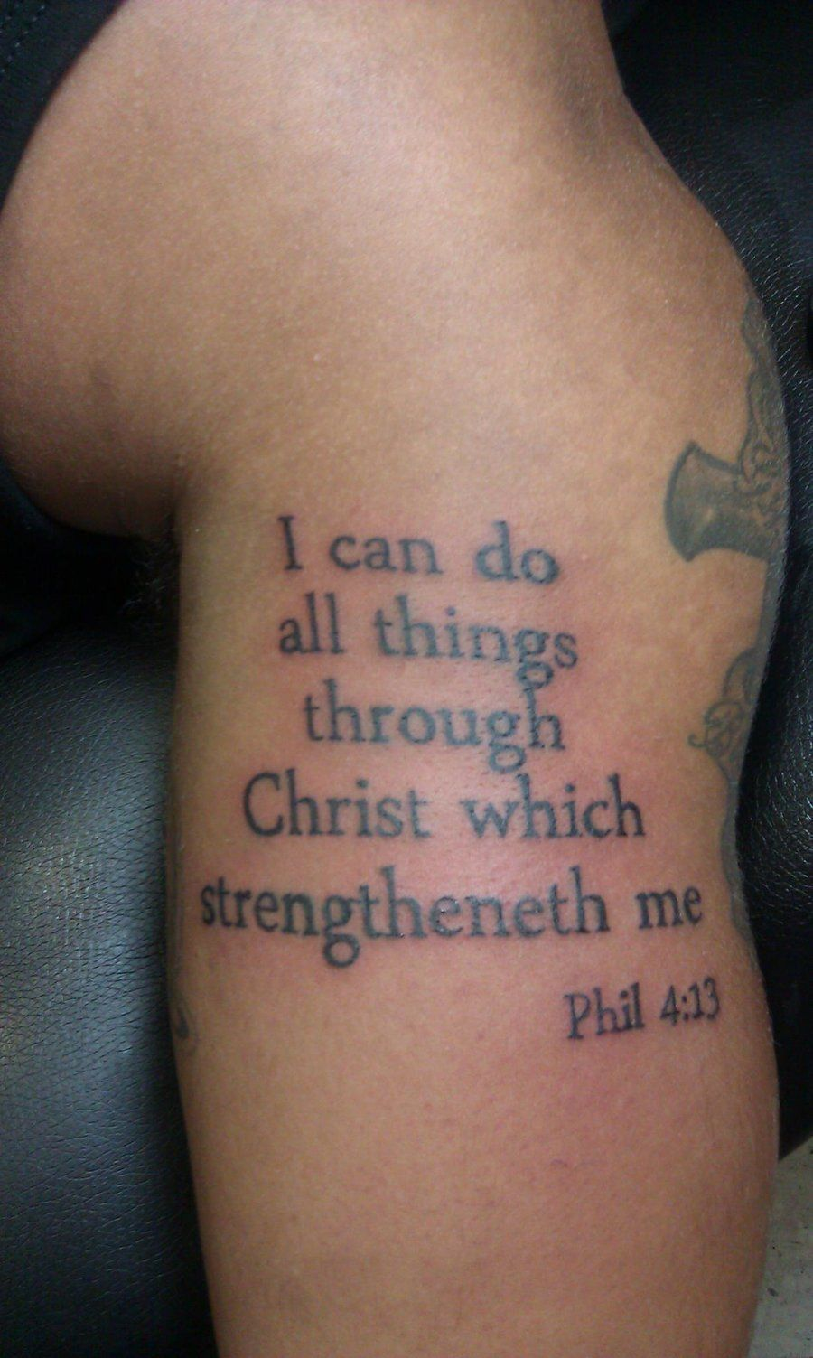Bible verse tattoos are an interesting form of tattoo designs as ...
