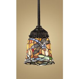 Westmore Lighting 3 Quot Tiffany Bronze Pendant Light With