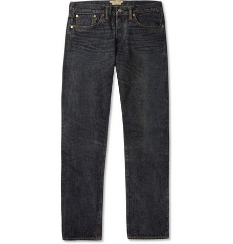 Simon Miller Hyperion Slim-Fit Washed Selvedge Denim Jeans | 330
