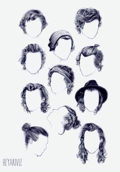 The Evolution Of Harry Styles Hair Harry Styles Hair Harry Styles How To Draw Hair