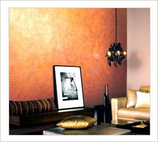 pretty. asia paints metallic paint crinkle effect. | india