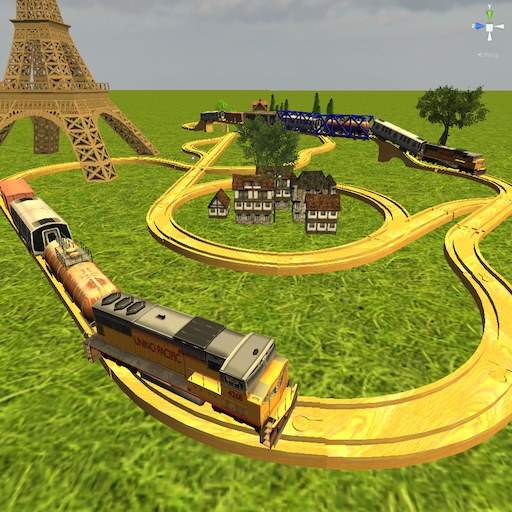 Kids Advanced Train Construction Android app Simulation
