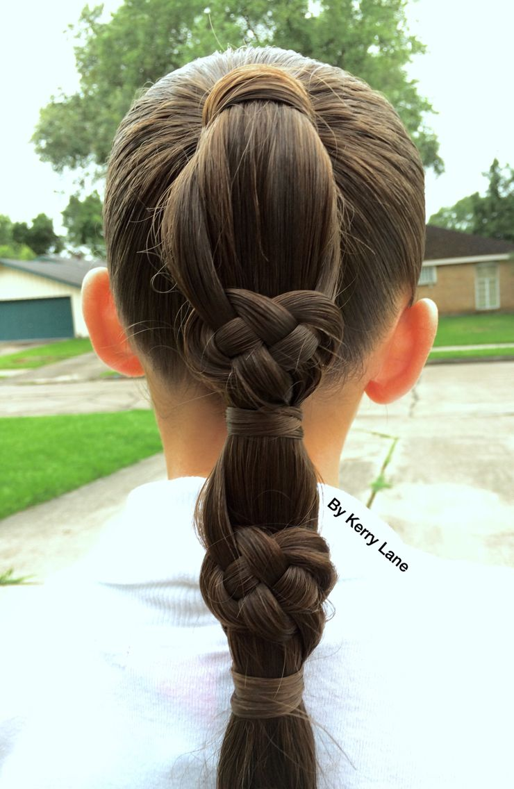 celtic knot braid | learn do teach hairstyles | hair styles
