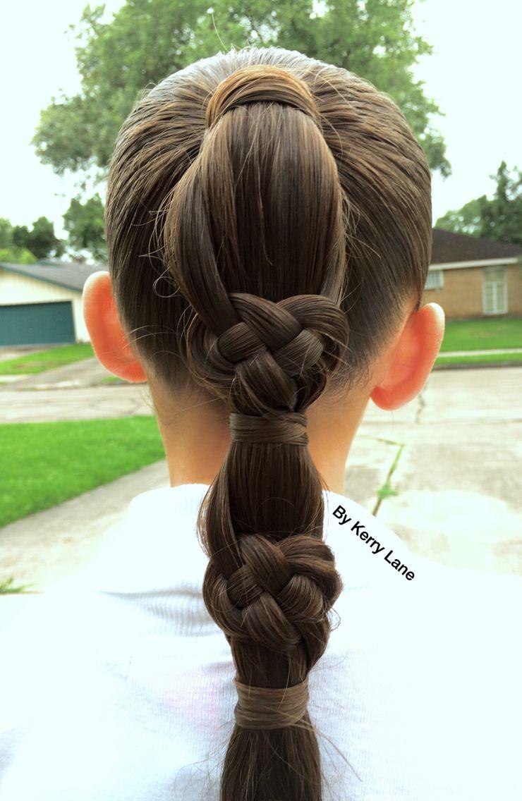 Celtic Knot Braid Learn Do Teach Hairstyles Hair