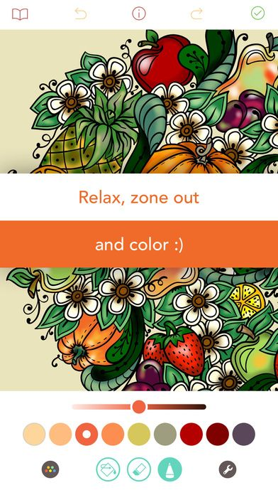 Pigment Coloring Book For Adults By Pixite Llc Pigment Coloring