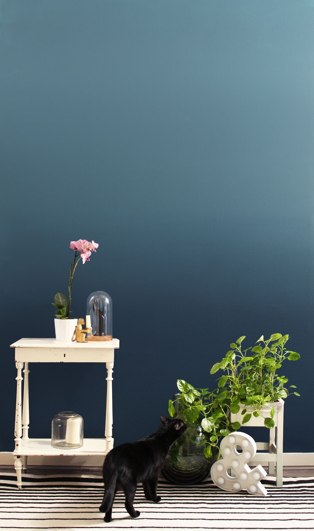 Do It Yourself Le Joli Ombre Wall Ombre Wall Diy Ombre Wall Ombre Painted Walls