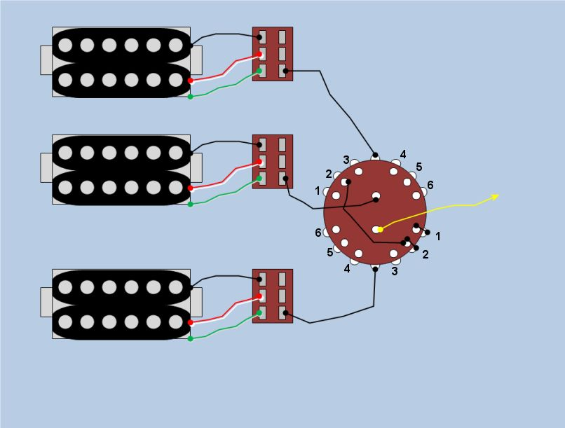 Mini Toggles  Rotary Switch Wiring Help