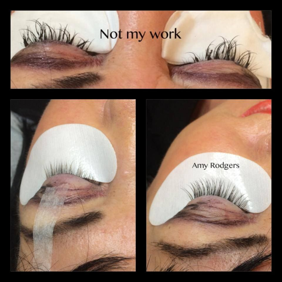 53dcba6c101 These kind of lash extensions can ruin or damage your lashes ...
