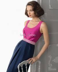 Resultado de imagen para pink and navy dress