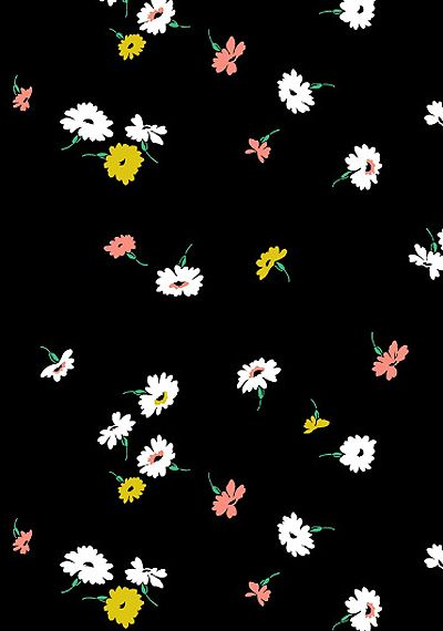 Falling Flowers Jacqueline Colley At Print Pattern