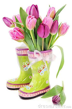 I Am Going To Put Flowers In My Vinatage Cowboy Boots As Our Centerpiece Baby Shower Tulips