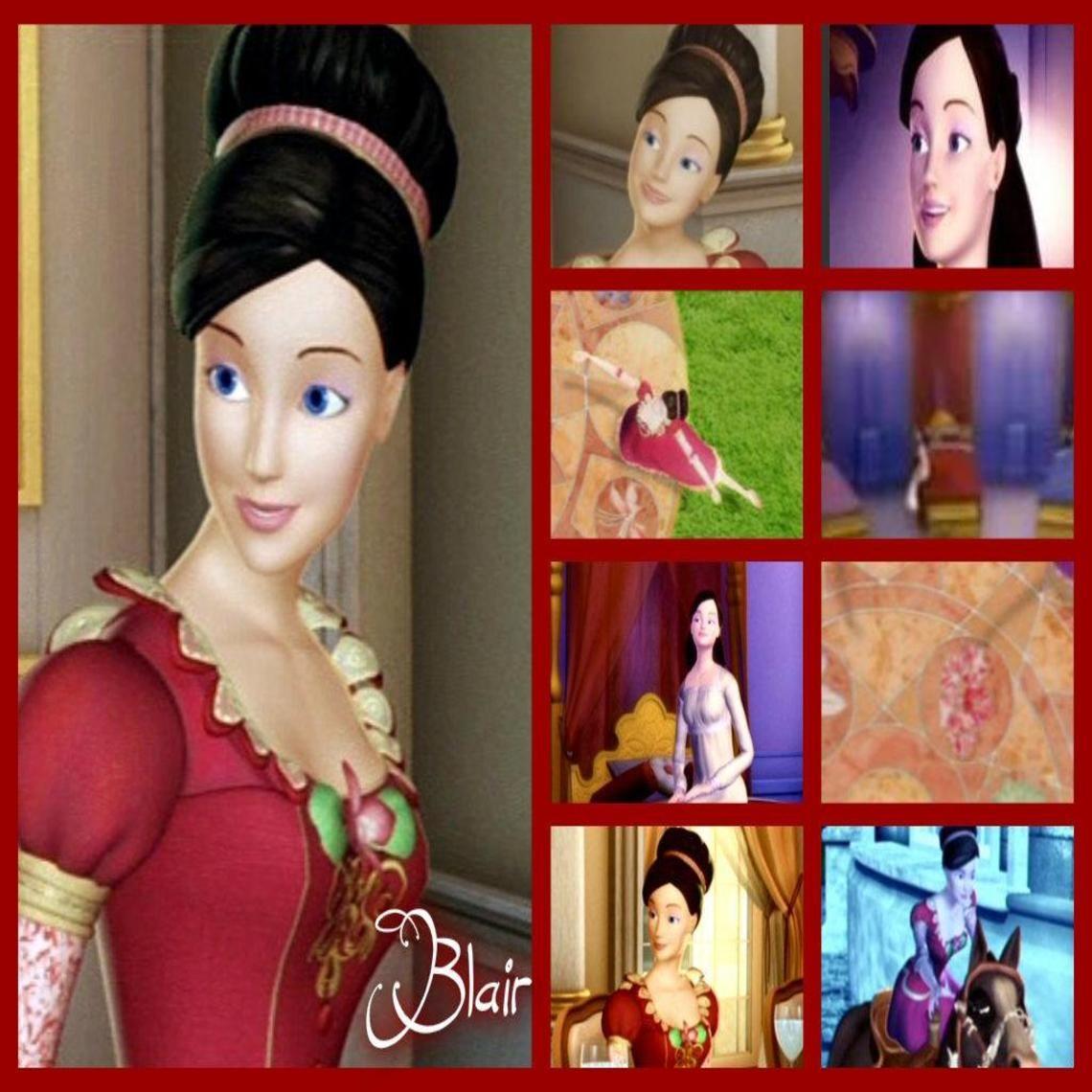 Blair barbie in the 12 dancing princesses wallpaper