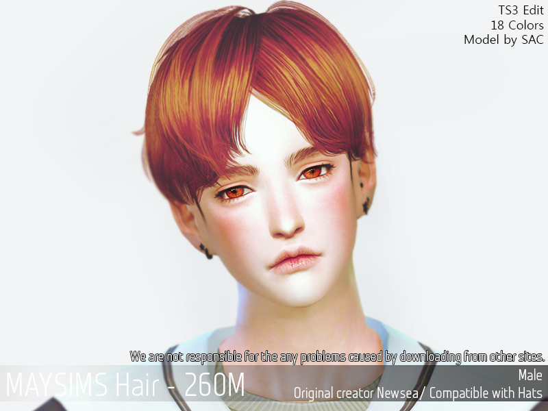 0 Point Hairstyle: May Items - [Point] May_TS4_Hair260M