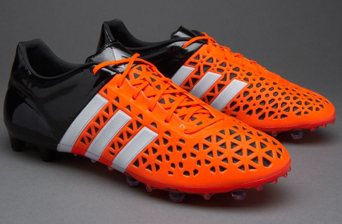 adidas ace orange and black