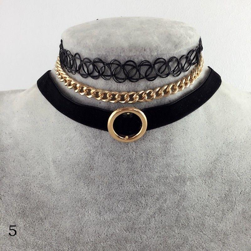 Vintage Samt Halsband Halskette 2017 Für Damen 3 Teilig   Schmuck ...