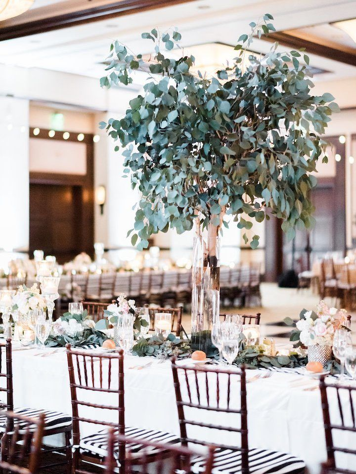 Modern Winter San Diego Wedding Wedding Reception Ideas