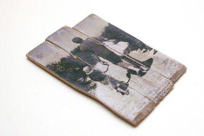 Foto auf Holz transferieren