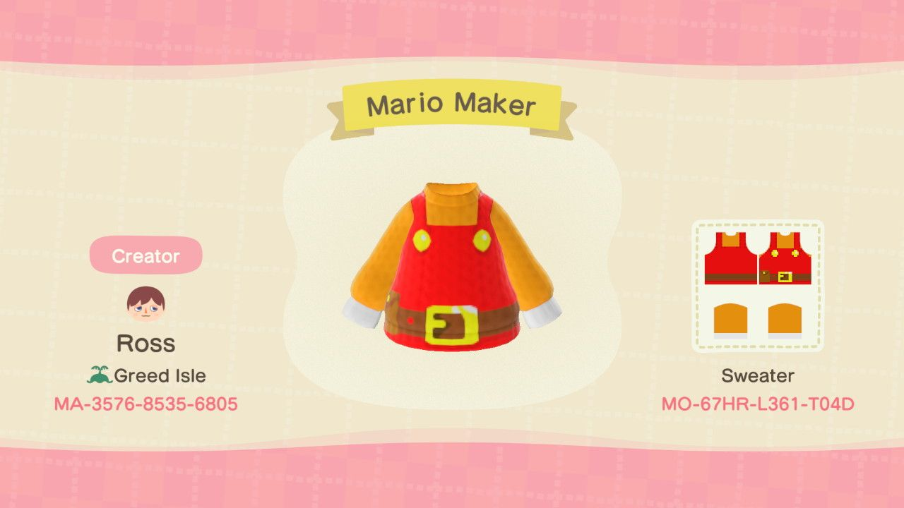 15+ How to get mario items animal crossing images