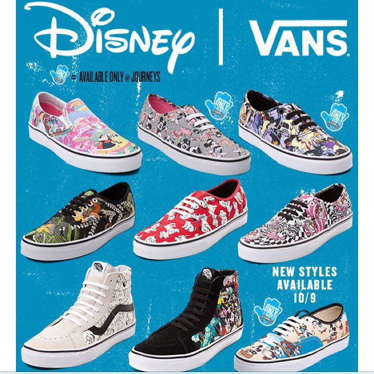 aaf1c15b96e6c6 After the huge success the shoe brand Vans had with their previous Disney  collaboration it comes as no surprise that they will release a second one.