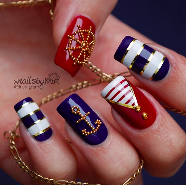 20+ Amazing Patriotic Nail Designs For The 4th Of July | Gorgeous ...