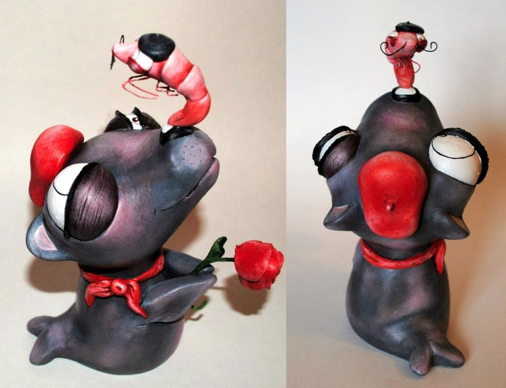 Le Valentina and Krillbert - Custom Rooz