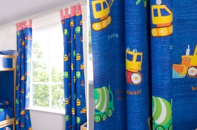 Blackout Curtains boys blue blackout curtains : 17 Best images about Children's Bedroom Furnishings on Pinterest ...