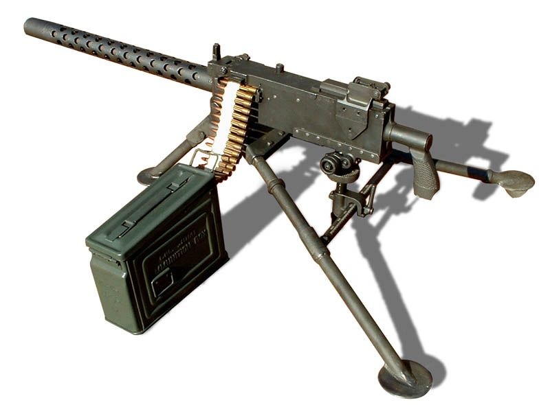 the browning m1919 is a must have to defend the perimeter against