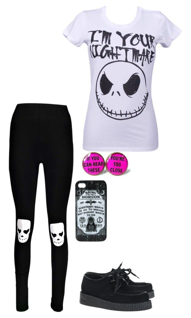 """Untitled #377"" by suicide-love666 ❤ liked on Polyvore featuring Boohoo, Mighty Fine and Underground"