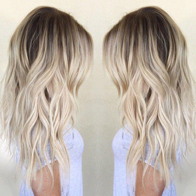 Shadow Root Wavy Haircuts Hair Lengths Long Hair Styles