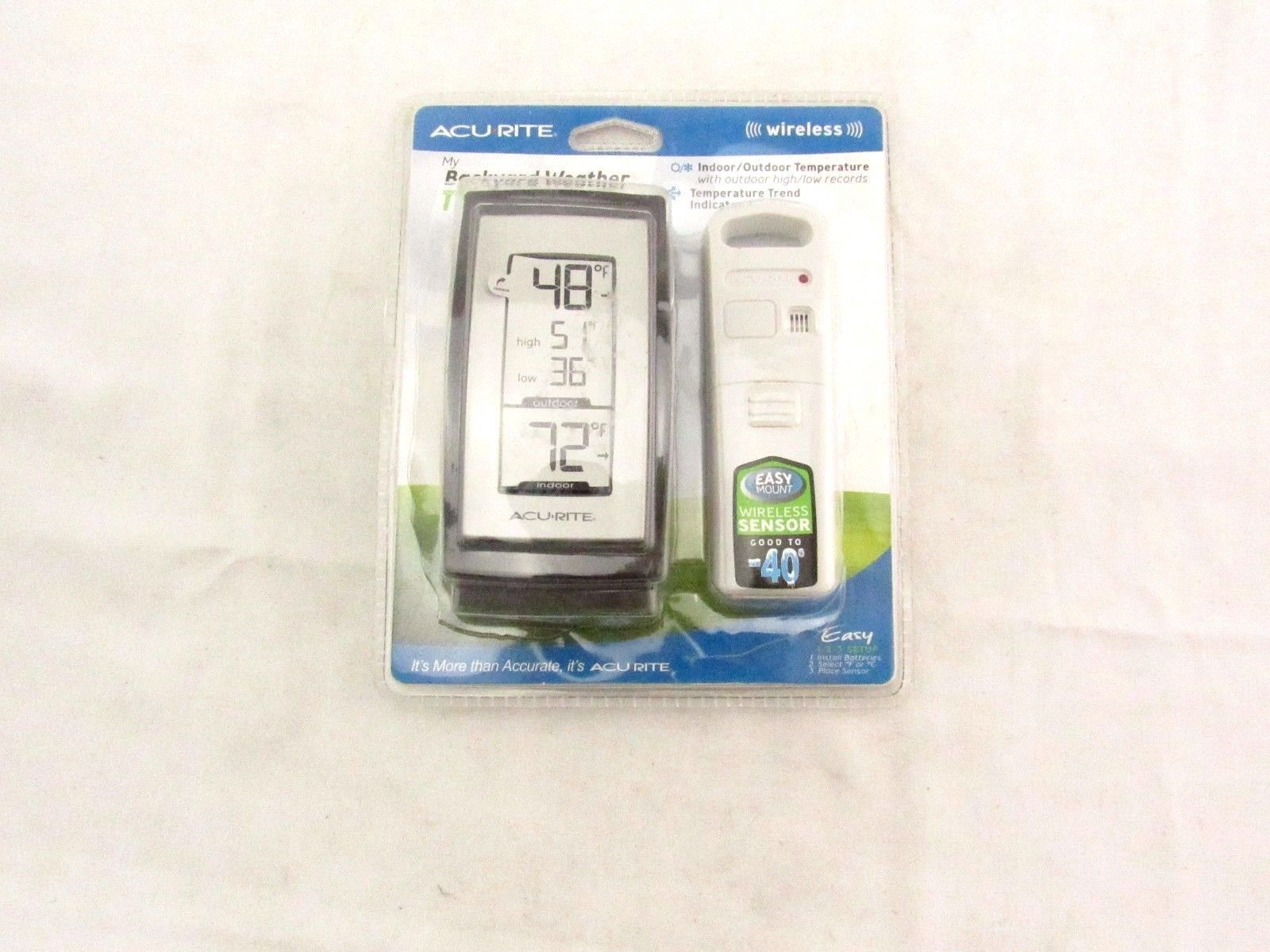 Bon Acurite My Backyard Weather Thermometer Wireless