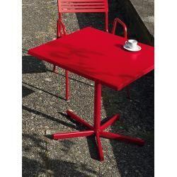 Metalltische Metalltisch Grundfarbe Schaffner Ag Rot Designer