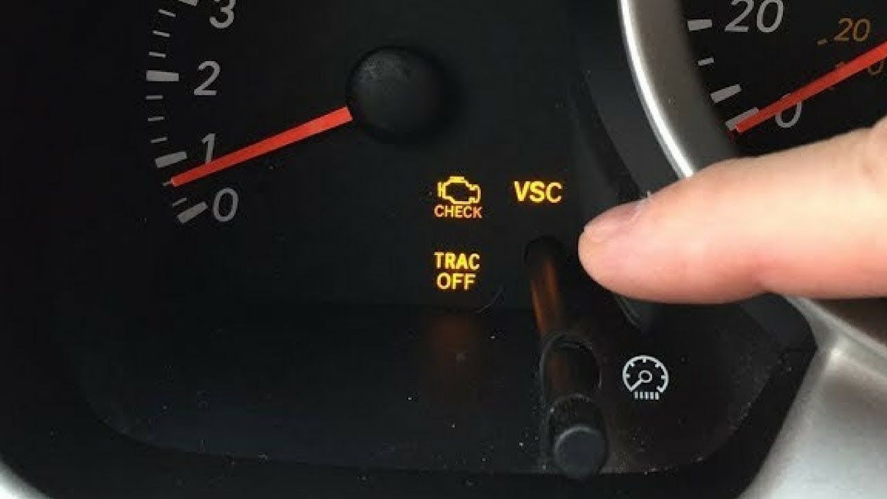 Part 1  How To Fix Your Check Engine  Vsc  Trac Off