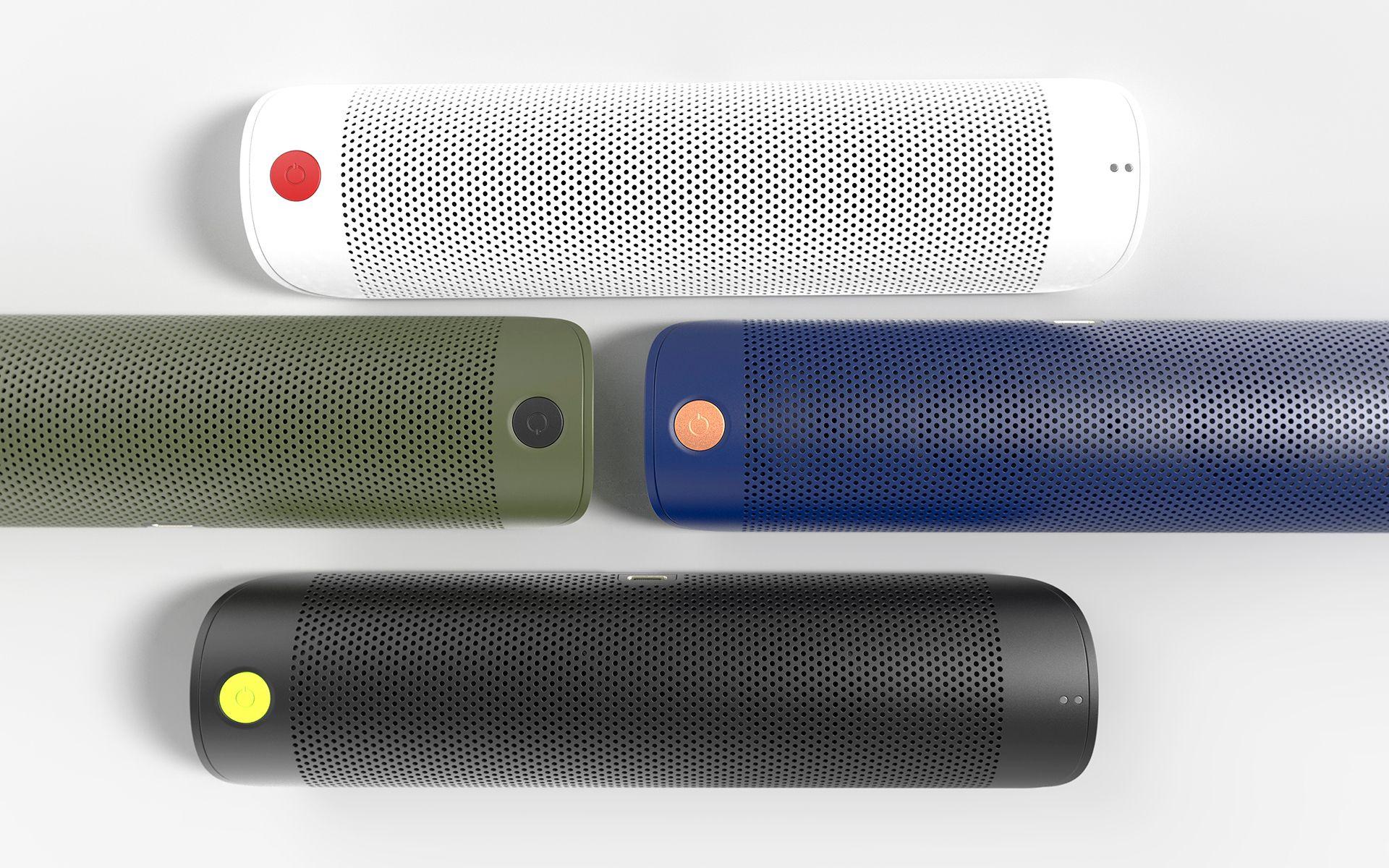 Bluetooth speaker device concept