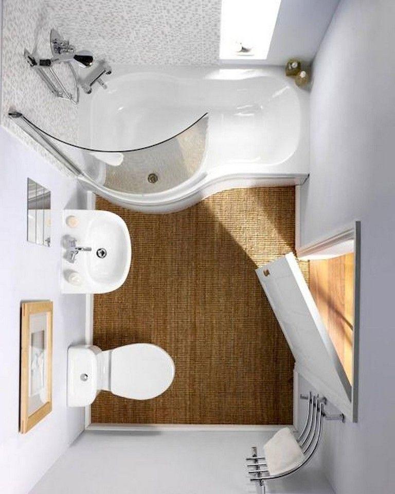 40 Awesome Studio Apartment Bathroom Remodel Ideas Small Bathroom Modern Small Bathrooms Bathroom Shower Design