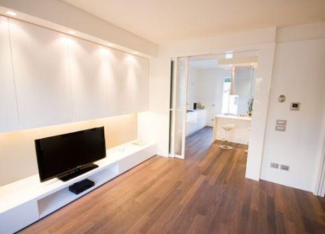 Porte scorrevoli per soggiorno e cucina | dividere cucina e living ...
