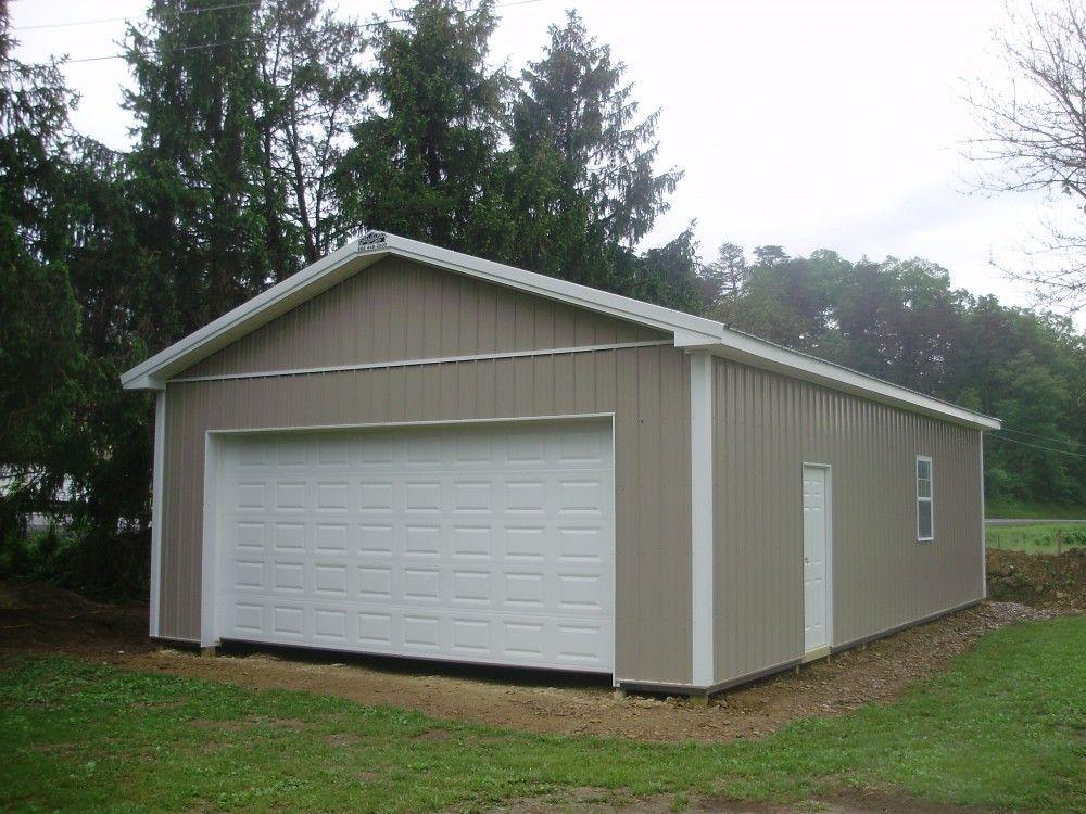 """Building Dimensions 24' W x 40' L x 10' 4"""" H (ID 351"""