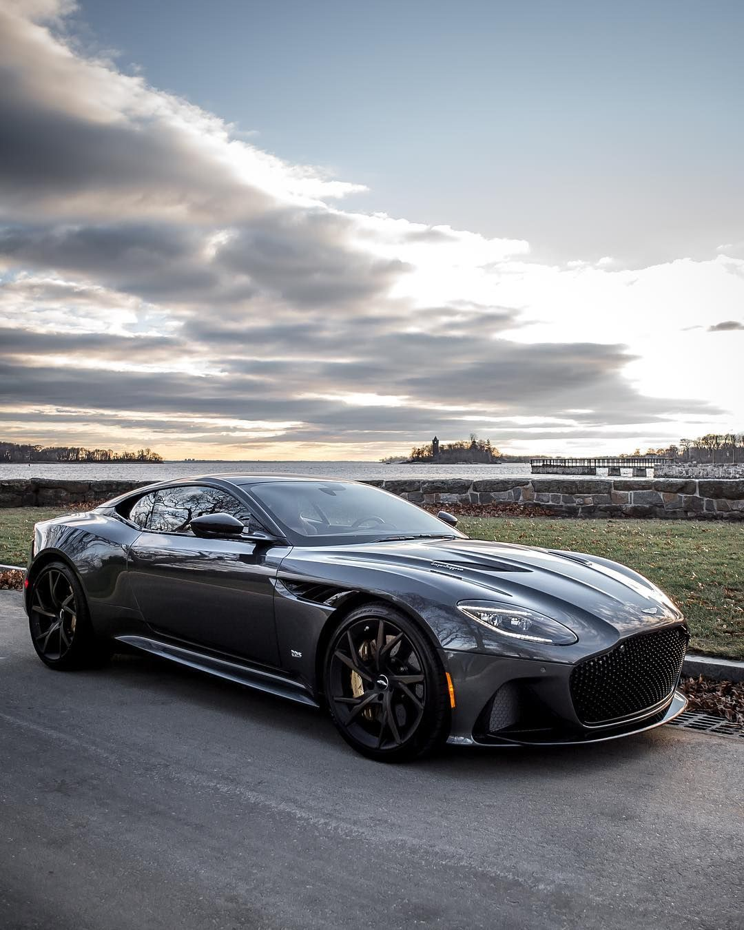 We Took Our #DBSSuperleggera Out For A Sunset Photoshoot