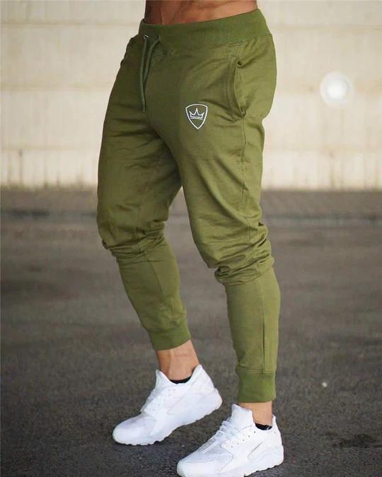 Mens Fashion Long Pants Bodybuilding Gyms Trousers Sweatpants