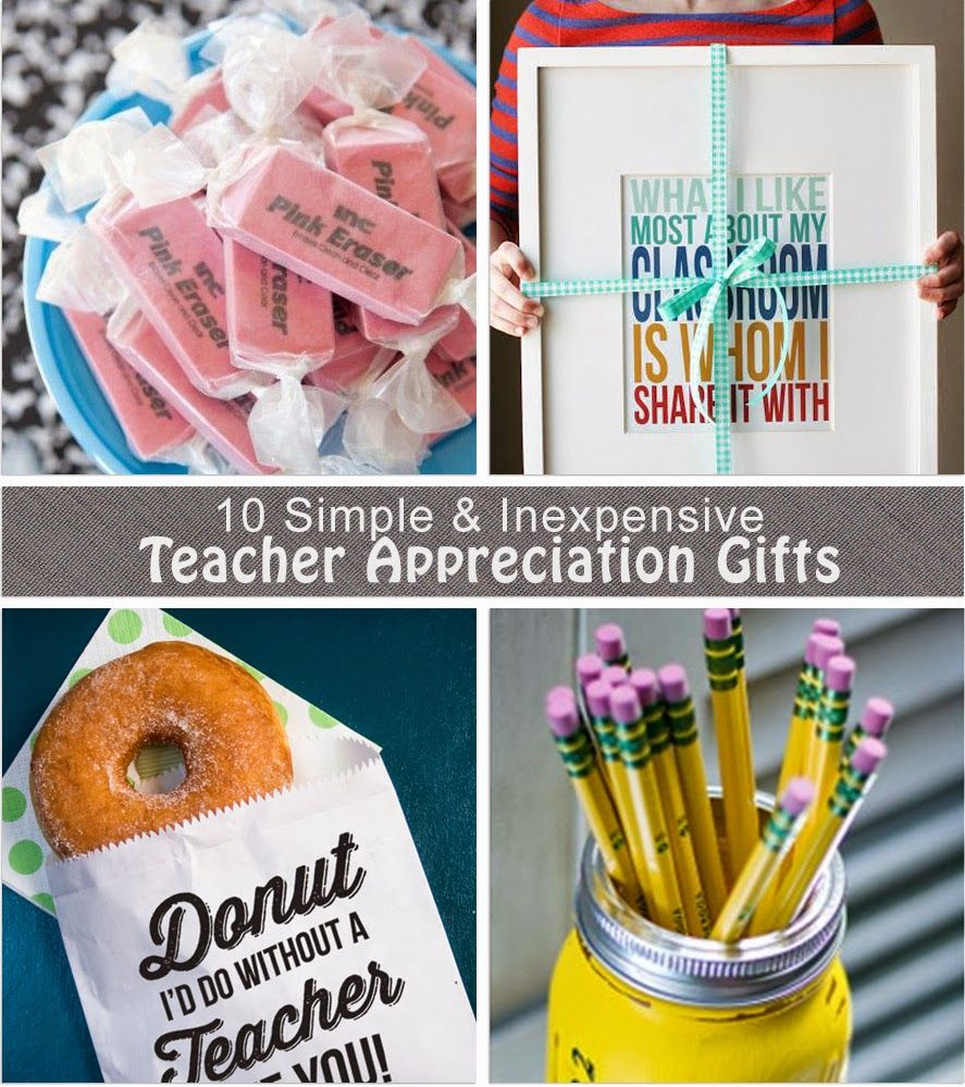 10 Inexpensive And Uni Teacher Reciation Gift Ideas Brought To You By The Crafty