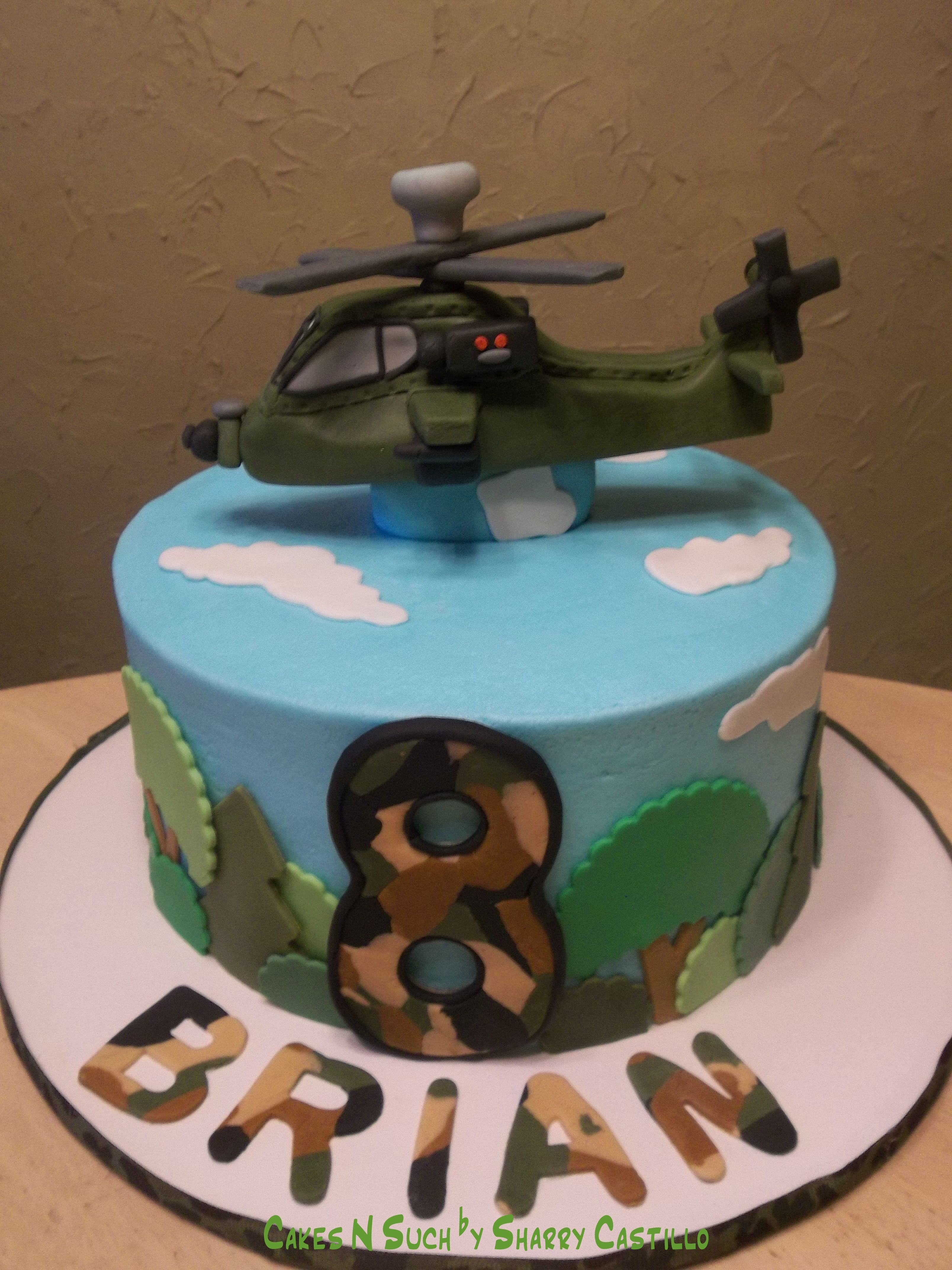 Apache Helicopter Birthday Cake Favorite Recipes In 2019
