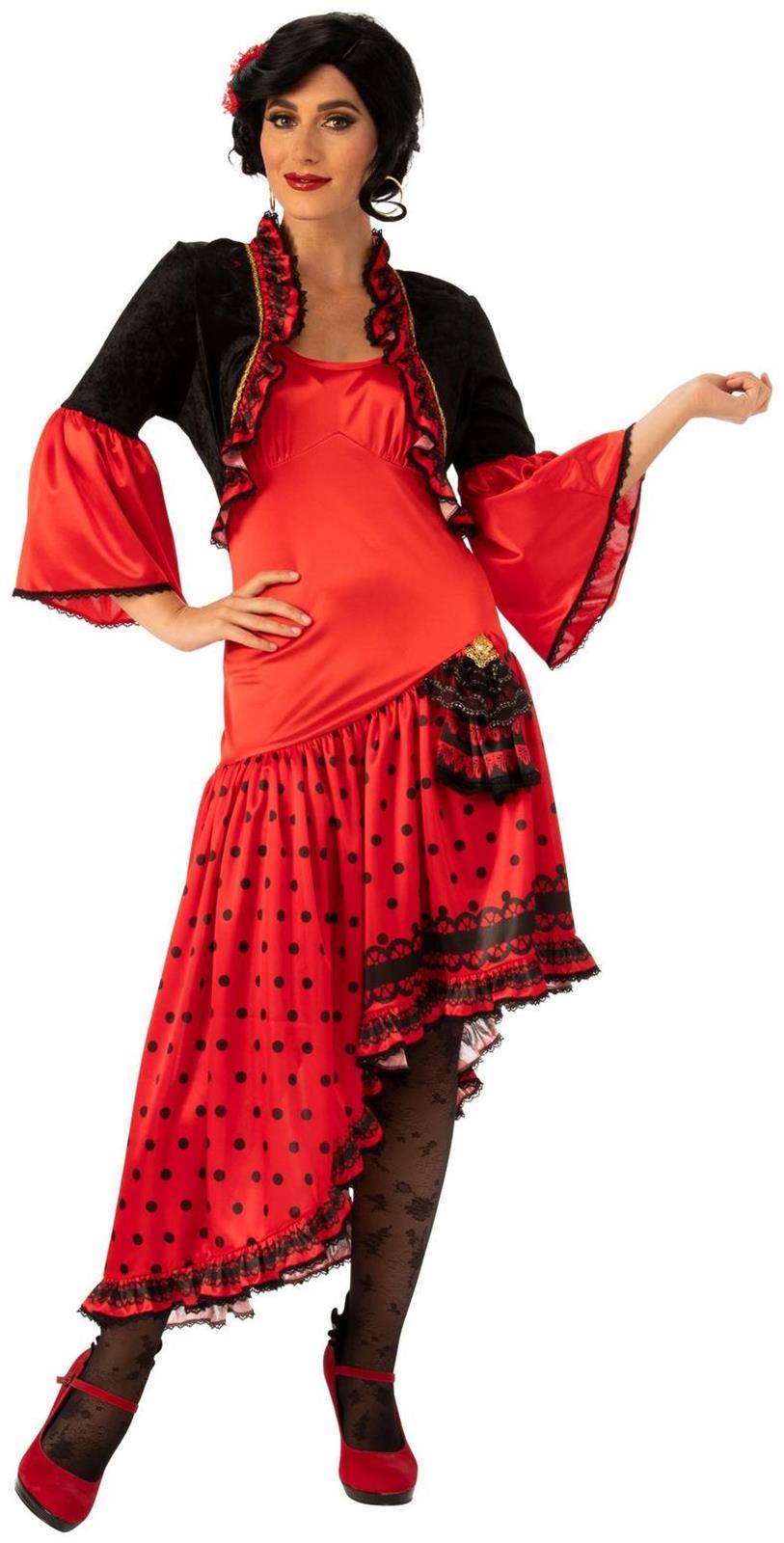 Spanish Dancer Adult Costume Dancer costume, Spanish