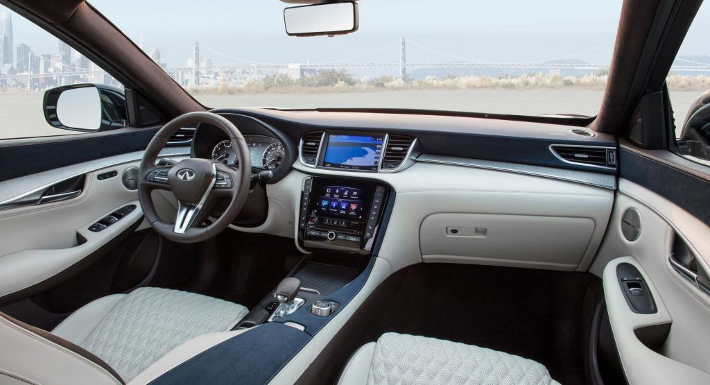 Infiniti Cant Stop Talking About The Qx50s Interior Heres Why Infiniti New Cars Best New Cars