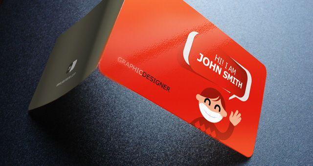 Creative Business Card Design Business Card Gallery Pinterest