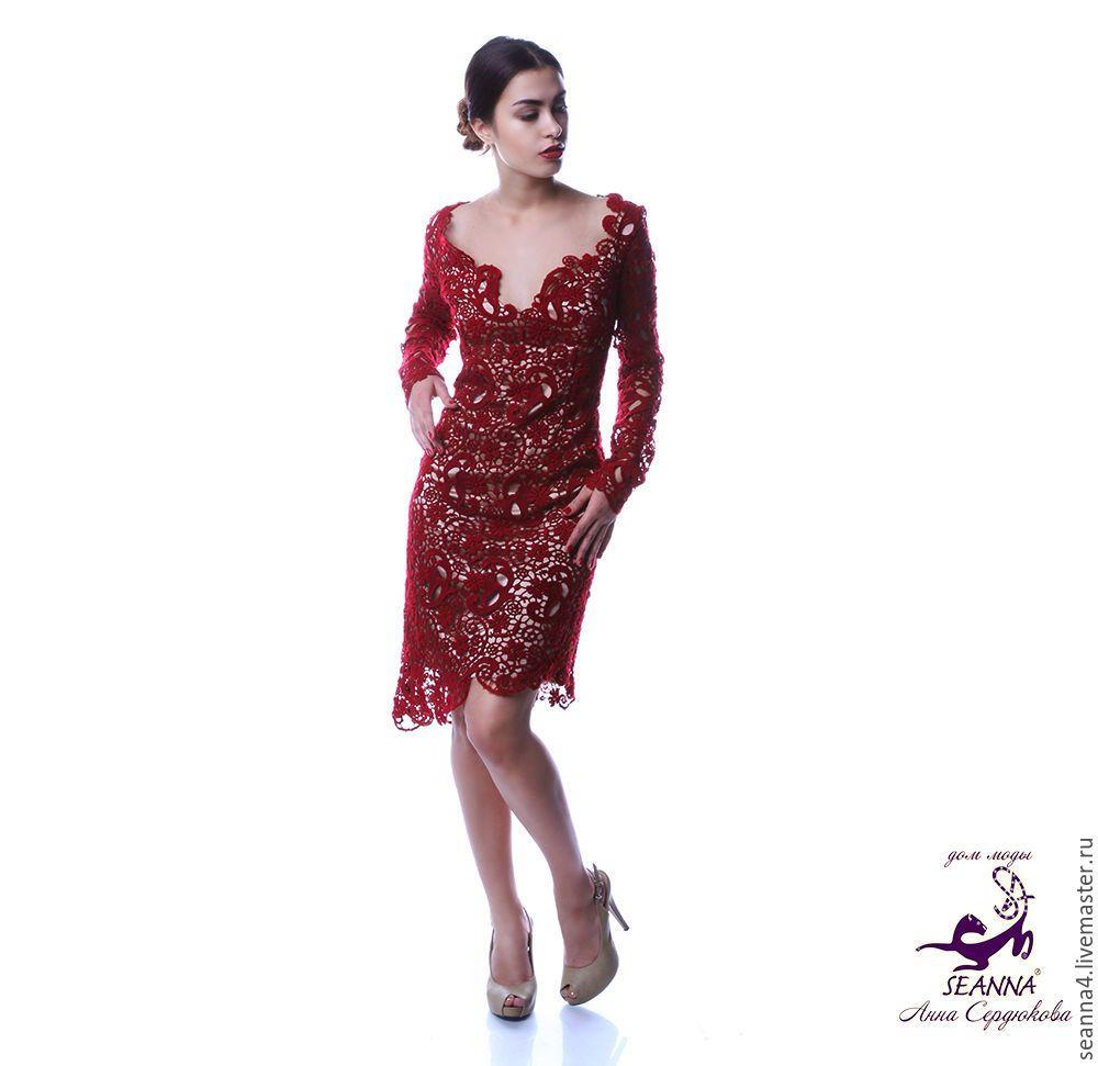 Роскошное платье из кружева