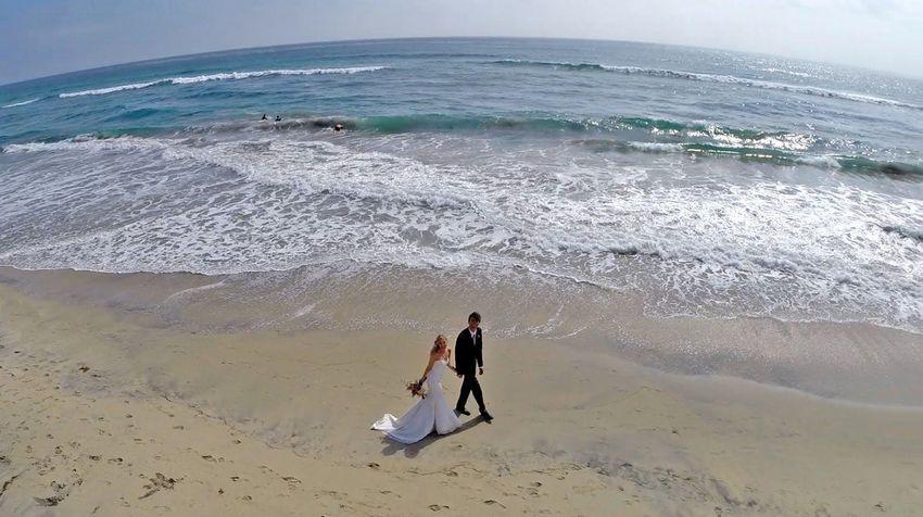 15 Beautiful Wedding Photos Taken By Drones