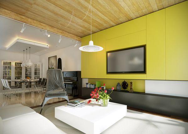 Five Apartments By Koj Design [Visualized] | Decor | Pinterest | Living  Room Interior, Room Interior And Modern