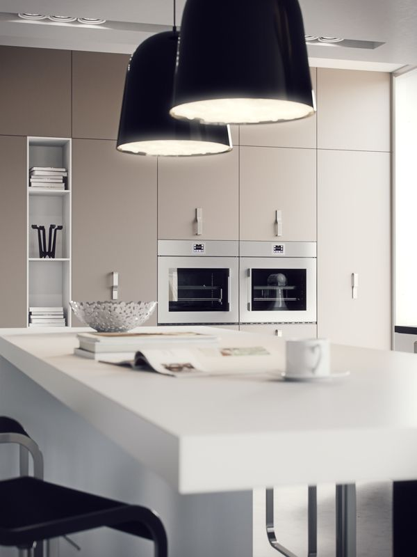 3D Visualization Kitchen on Behance 3D